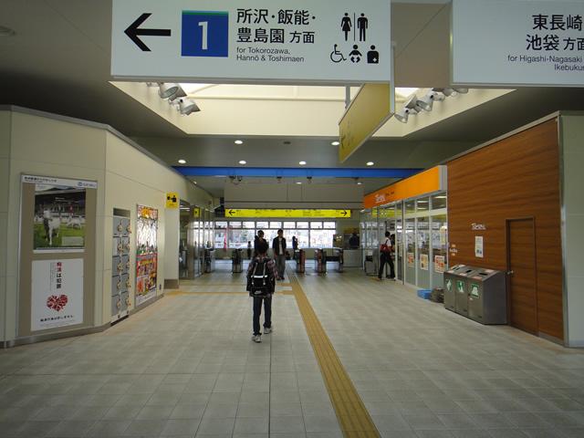 江古田駅改札