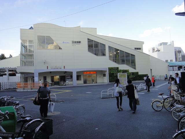 夕方の江古田駅